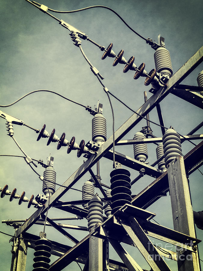 Electric Photograph - Electricity by Edward Fielding