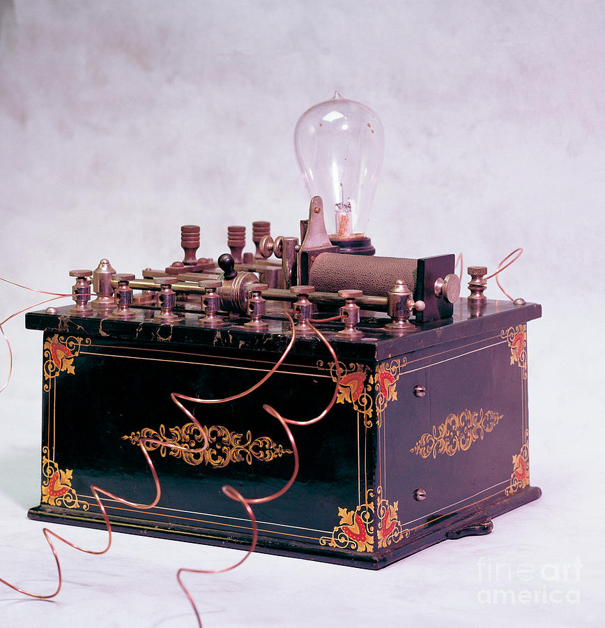 Electric Photograph - Electroconvulsive Therapy by Brooks / Brown