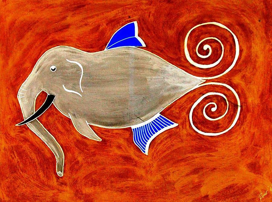 Fish Digital Art - Elefant by Rodemondo Rocca
