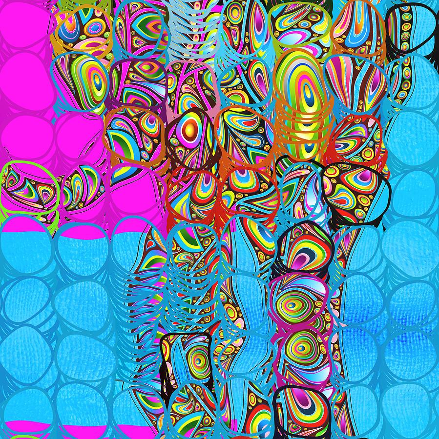 Elephant Digital Art - Elefantos - Av03-ps01 by Variance Collections