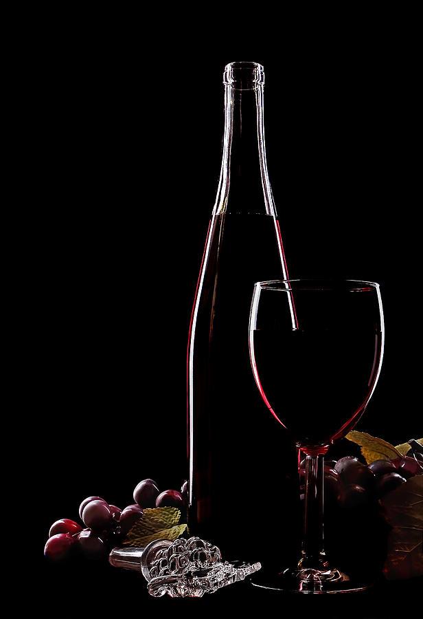 Wine Photograph - Elegance by Marcia Colelli