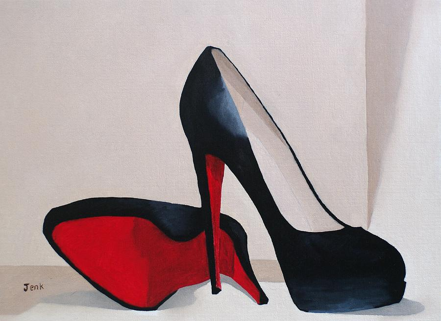 Fashion Paintings Painting - Elegance by My Inspiration