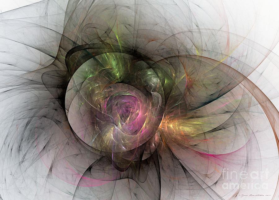 Elegant Beauty Digital Art