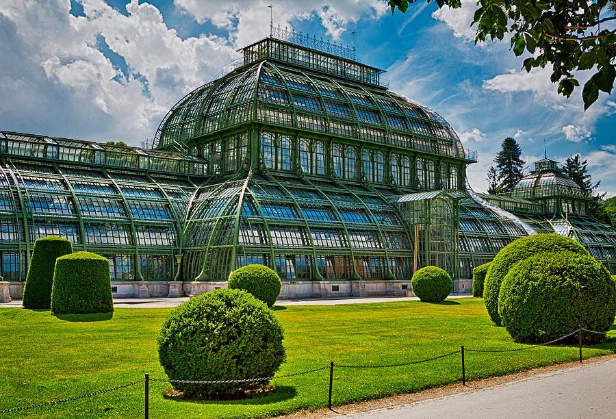 Vienna Photograph - Elegant Greenhouse by Viacheslav Savitskiy