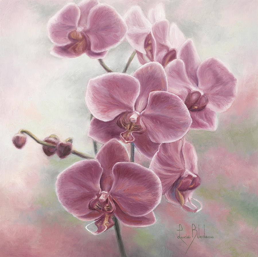How To Paint Orchids In Acrylic
