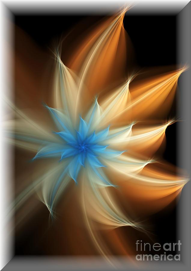 Flower Digital Art - Elegant by Svetlana Nikolova