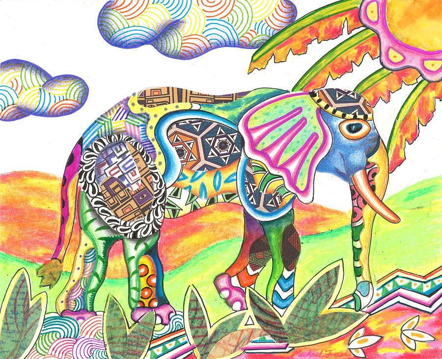 Enitan - Elephant by Michael Andrew Frain