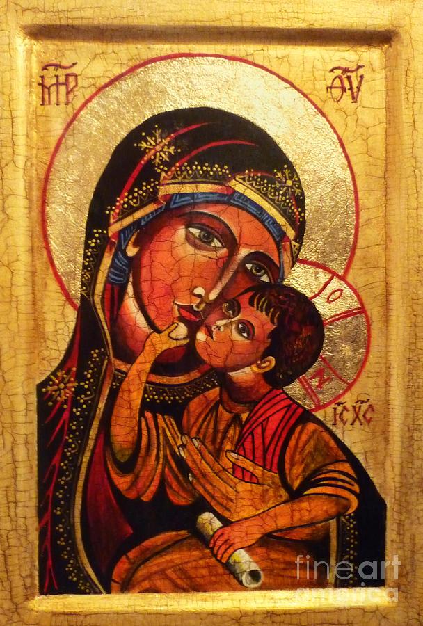 Eleusa II Icon Painting