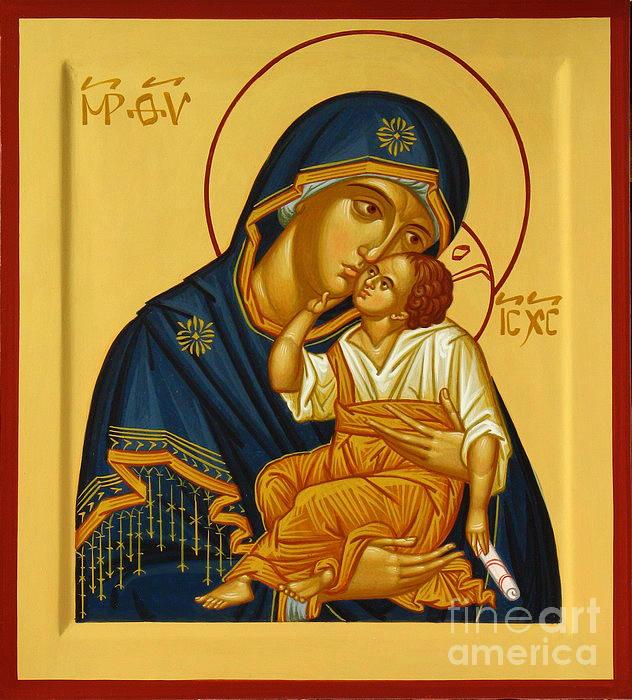 Eleusa Iv Icon Painting