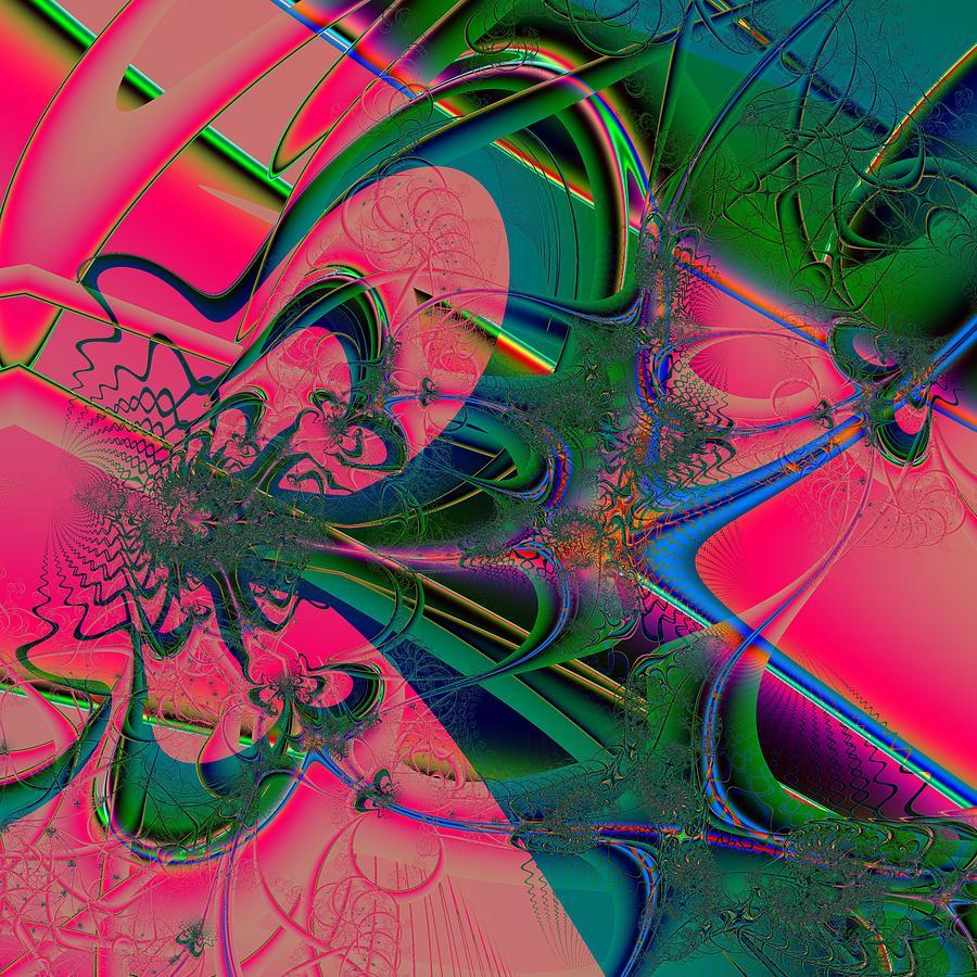 Raise Up Digital Art - Elevate by Barroa Artworks