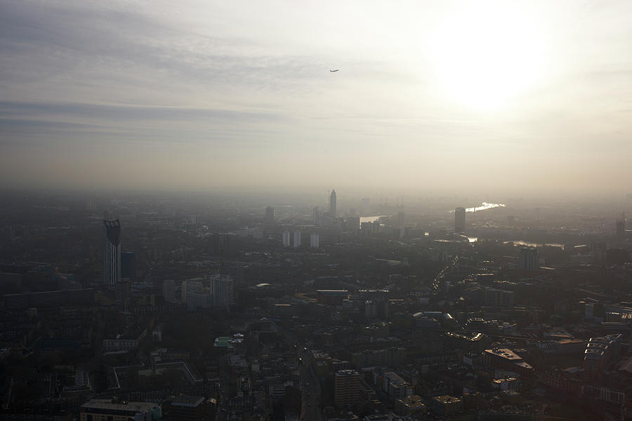 Elevated View Of South London At Sunset Photograph by Gary Yeowell