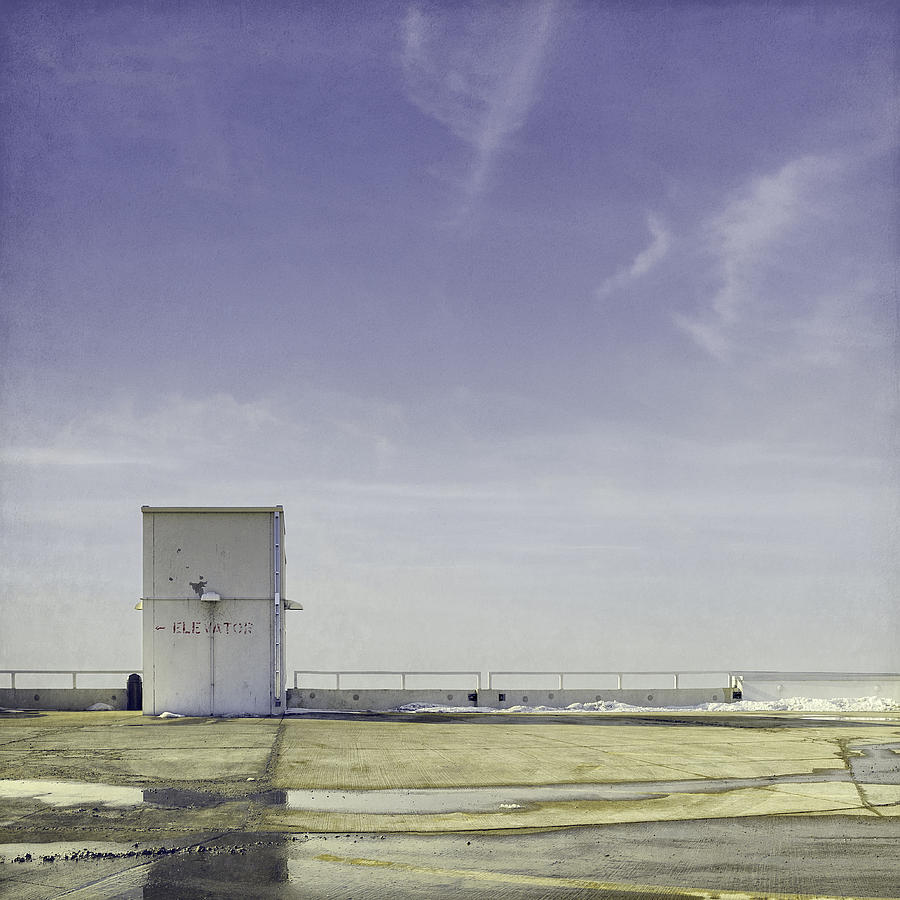 Roof Top Photograph - Elevator by Scott Norris