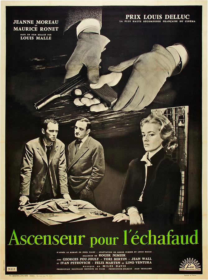 1958 Movies Photograph - Elevator To The Gallows, Aka Ascenseur by Everett