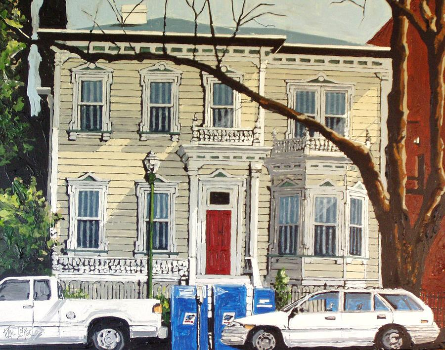 Sacramento Painting - Eleventh Between I And J by Paul Guyer