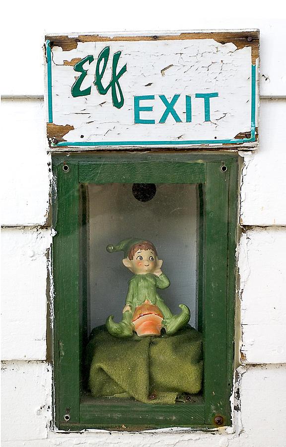 elf exit, Dubuque, Iowa Photograph by Steven Ralser