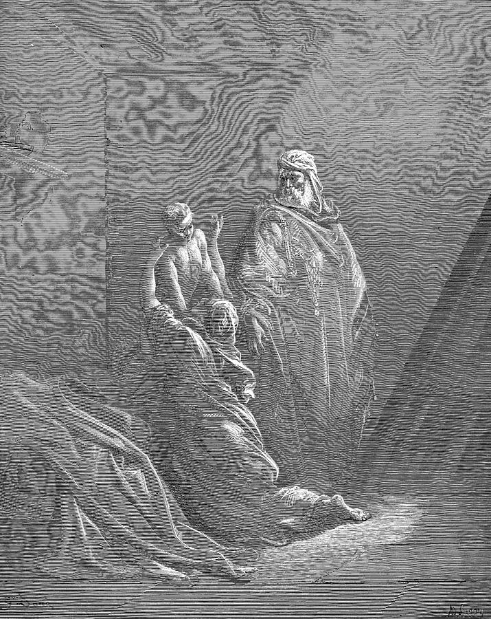 Jesus Christ Painting - Elijah Raiseth the Son of the Widow of Zarephath by Celestial Images