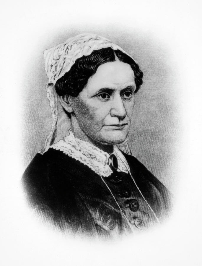 19th Century Painting - Eliza Mccardle Johnson (1810-1876) by Granger
