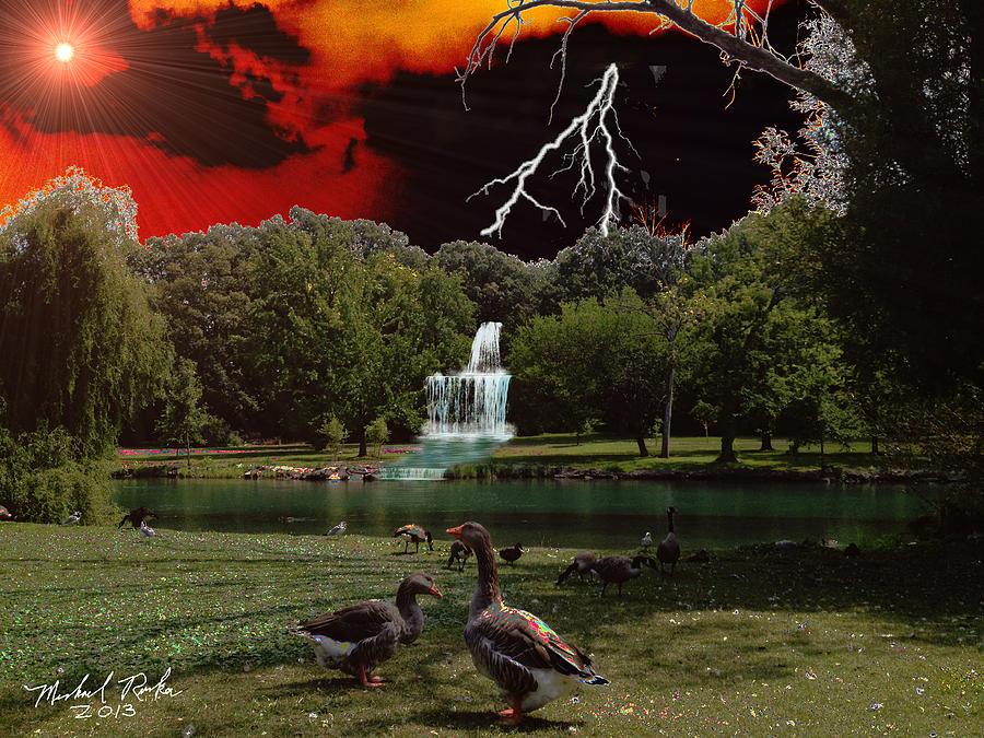 Elizabeth Park Digital Art - Elizabeth Park by Michael Rucker