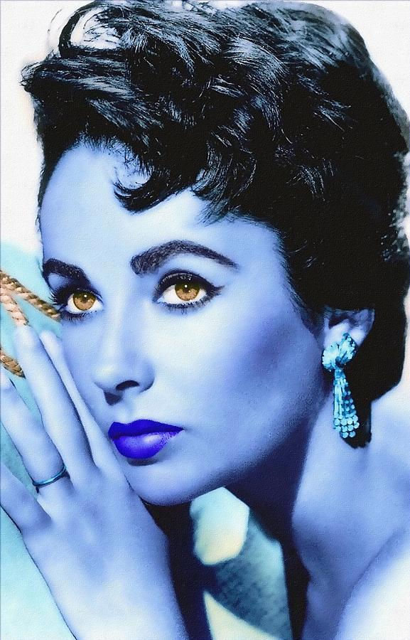 Actress Photograph - Elizabeth Taylor by Art Cinema Gallery