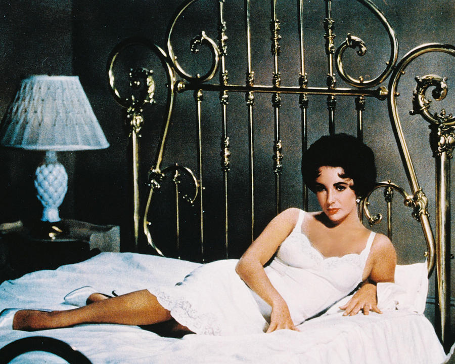Elizabeth Taylor Photograph - Elizabeth Taylor In Cat On A Hot Tin Roof  by Silver Screen