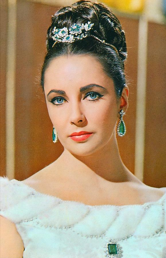 Actress Photograph - Elizabeth Taylor In The V.i.p.s. by Art Cinema Gallery