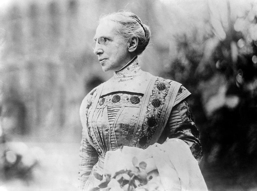 19th Century Photograph - Ella Flagg Young (1845-1918) by Granger