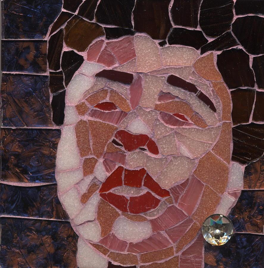 Mosaic Painting - Ella by Gila Rayberg