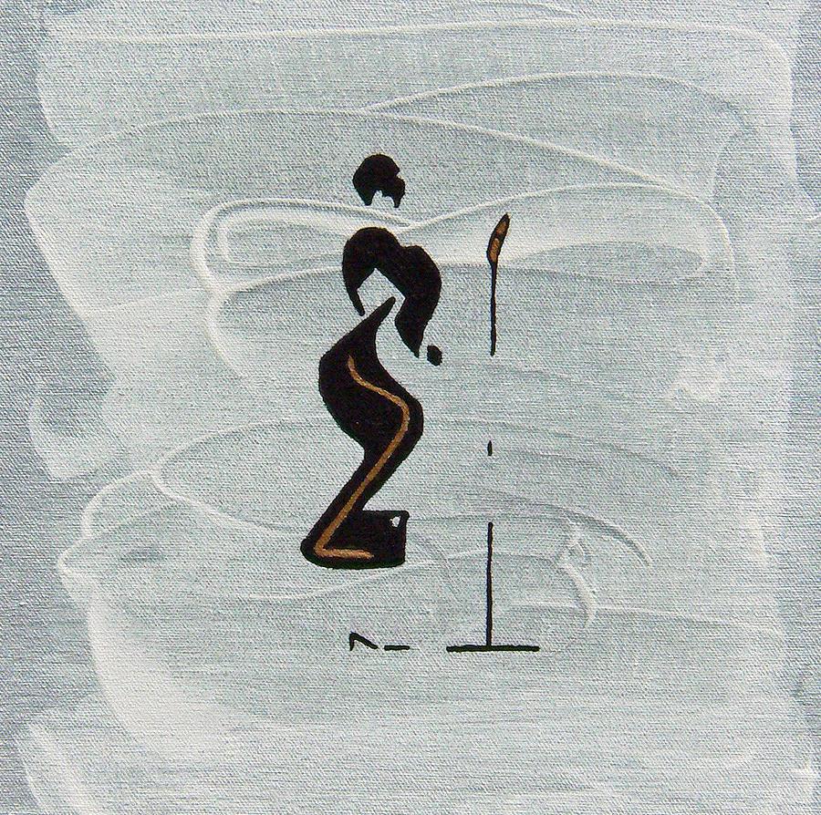 Ella Painting - Ella by Michael Tokarski