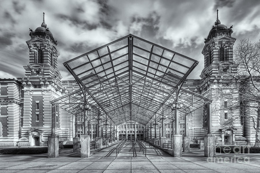 America Photograph - Ellis Island Immigration Museum Iv by Clarence Holmes
