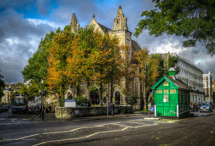 Hdr Photograph - Ellm Church And Cabmans Shelter by Ross Henton