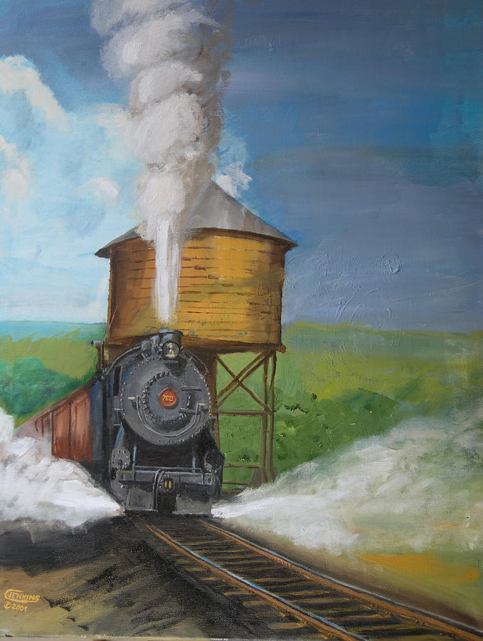 Pennsylvania Painting - Elmira Branch by Christopher Jenkins