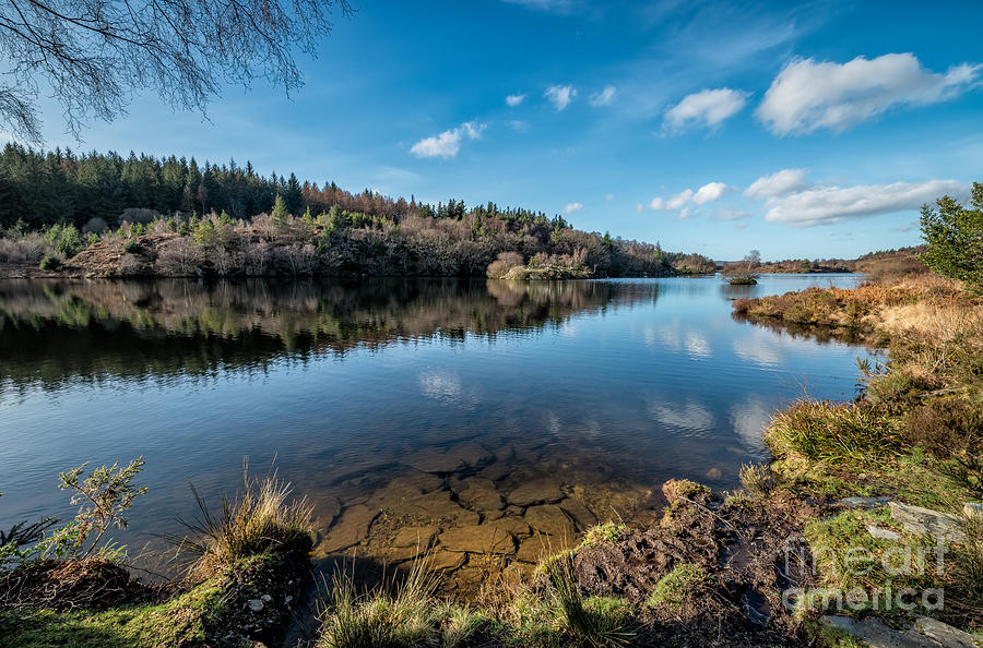 Betws Y Coed Photograph - Elsi Reservoir by Adrian Evans