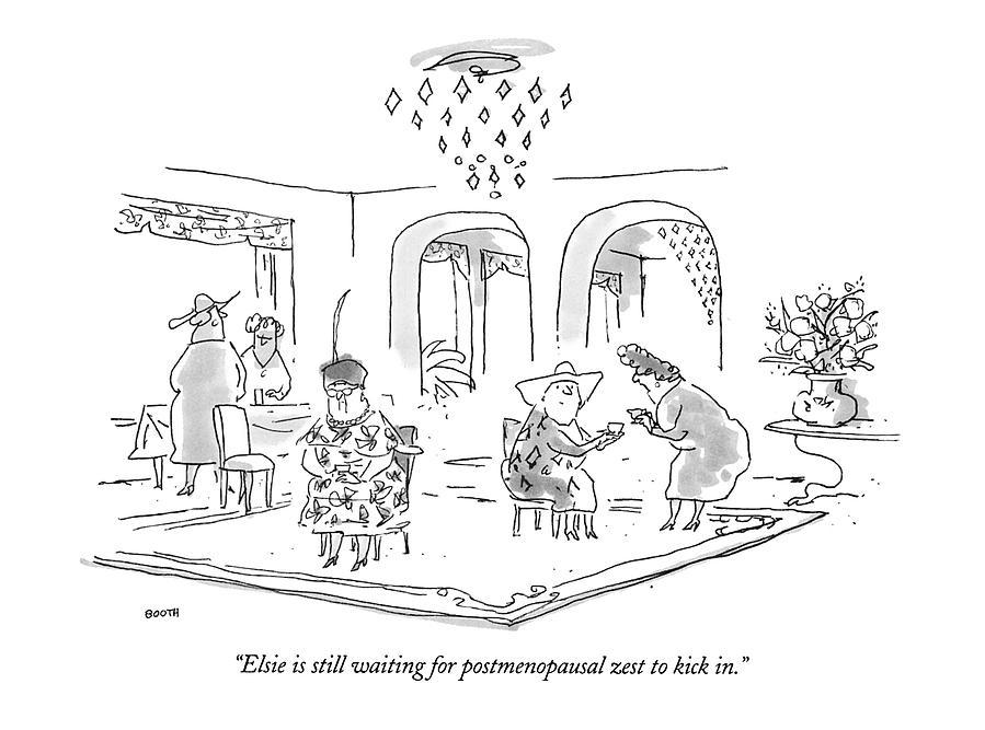 Postmenopausal zest