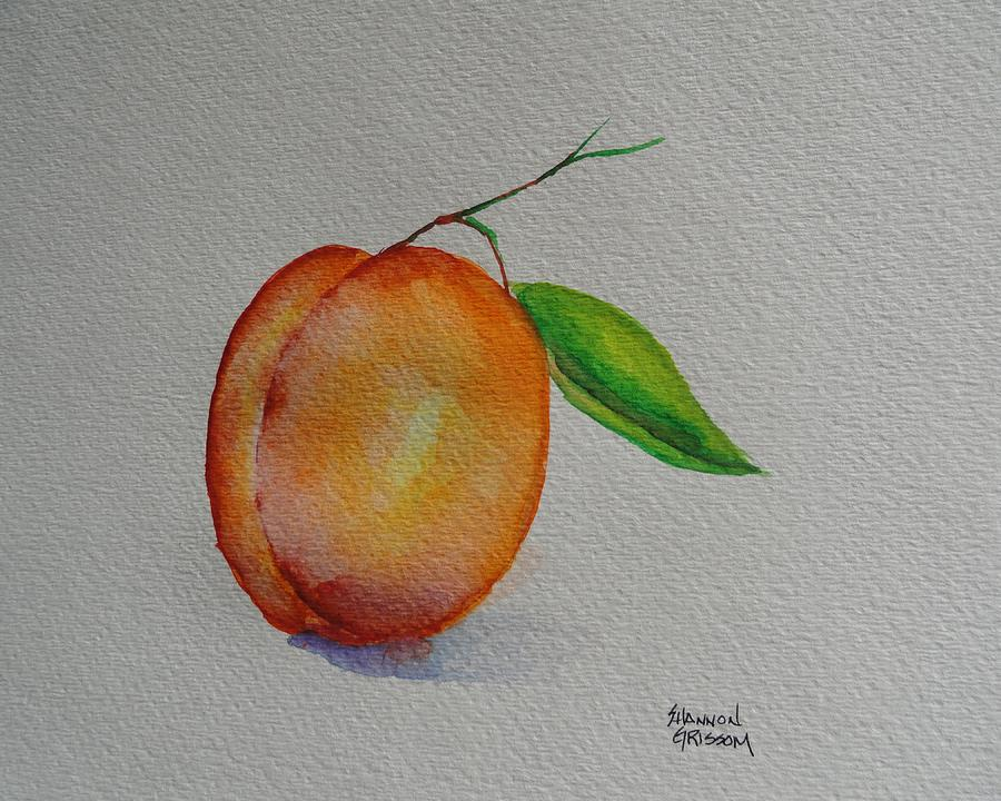 Apricot Painting - Elsie by Shannon Grissom