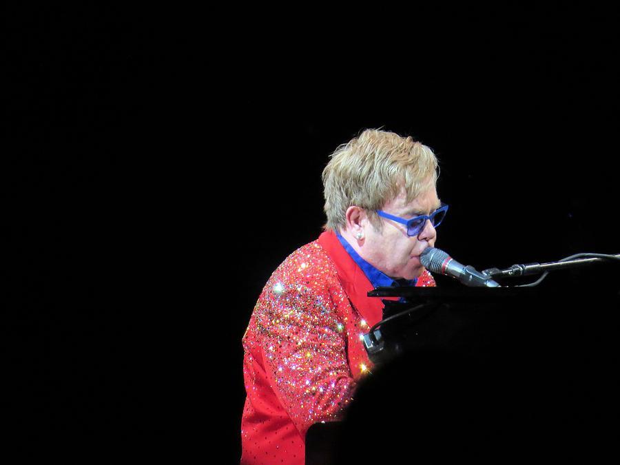 Singer Photograph - Elton by Aaron Martens