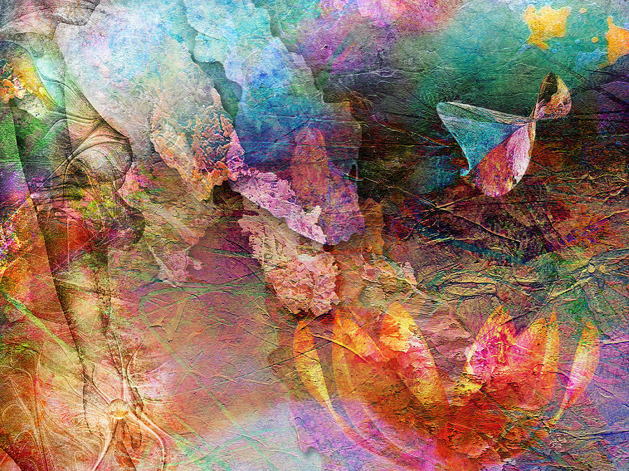 Kunst Painting - Elusive Dreams Part Two by Jacky Gerritsen