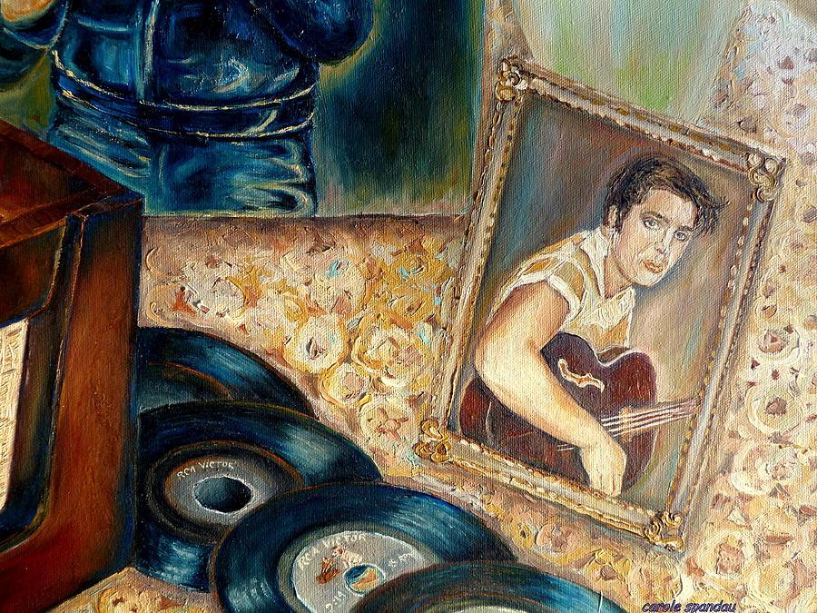 Elvis Painting - Elvis Country Boy by Carole Spandau