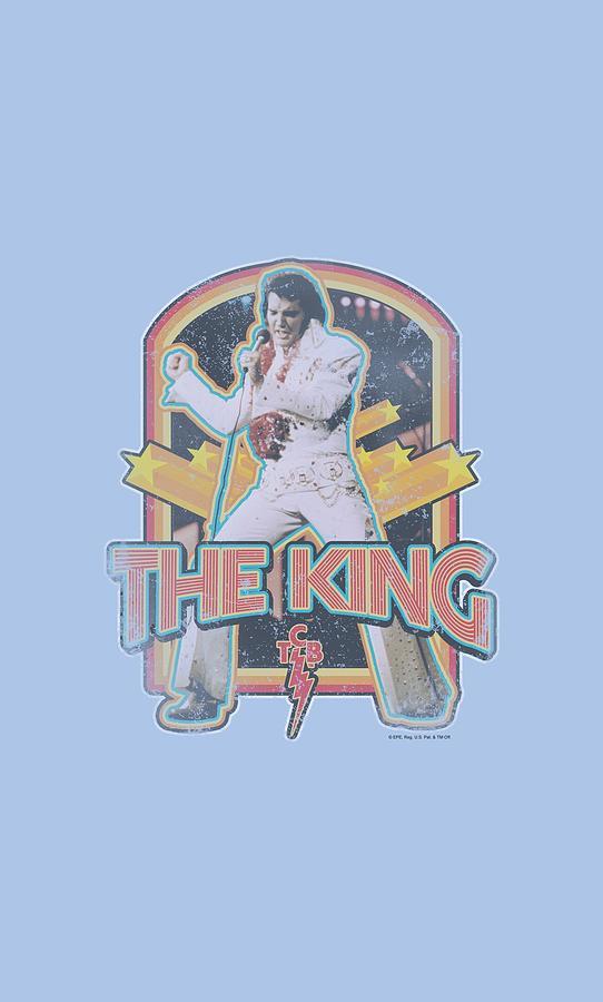Elvis Digital Art - Elvis - Distressed King by Brand A