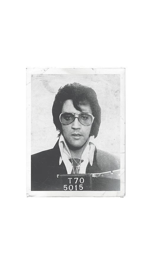 Elvis Digital Art - Elvis - Framed by Brand A