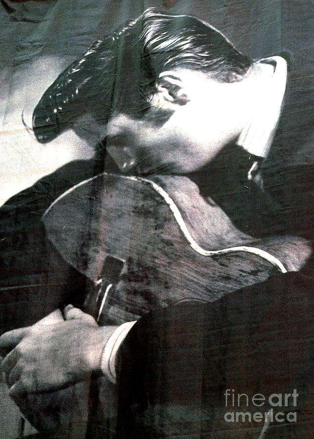 Elvis Presley Photograph - Elvis Gently Weeps by David Bearden