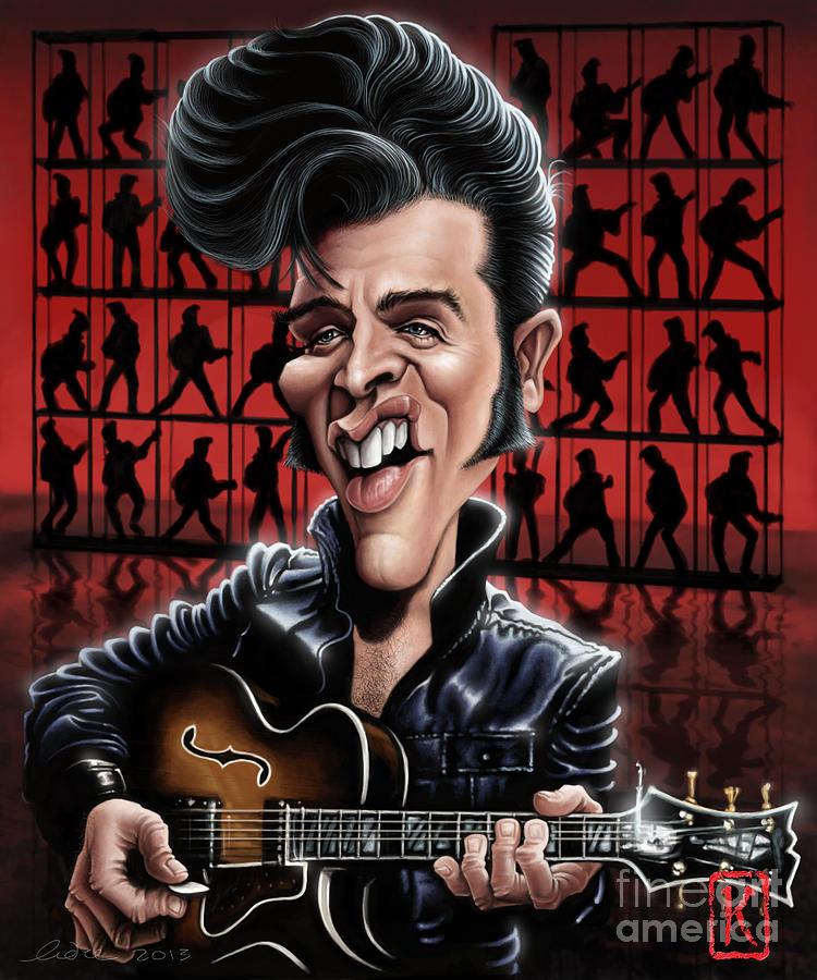 Elvis Presley Digital Art - Elvis In Memphis by Andre Koekemoer