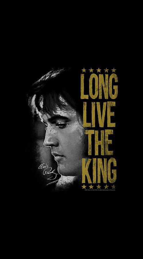 Elvis Digital Art - Elvis - Long Live The King by Brand A