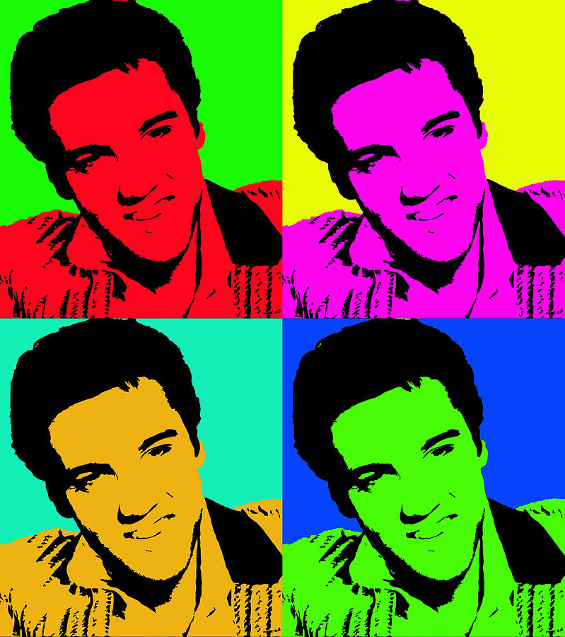 andy warhol paintings elvis wwwimgkidcom the image