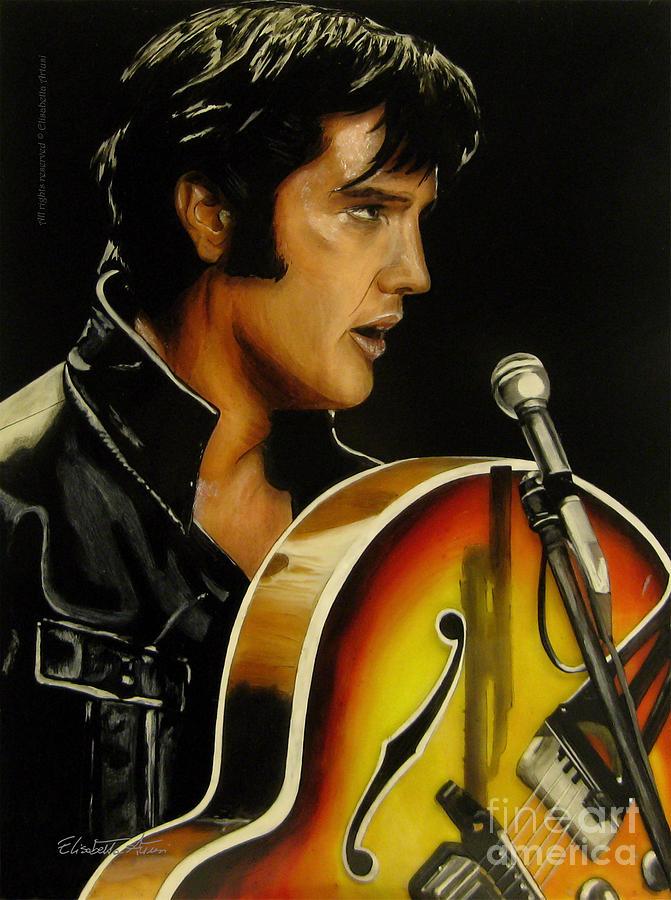 Elvis Presley Canvas Painting