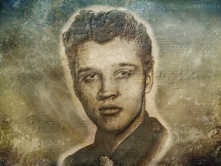 Elvis Presley Photograph - Elvis Presley by Dan Sproul