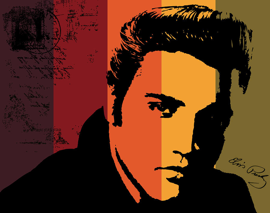 Elvis Digital Art - Elvis Presley by Kenneth Feliciano