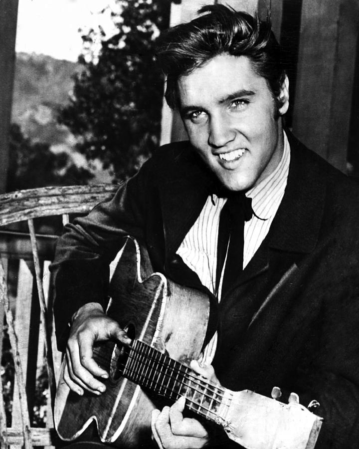 Classic Photograph - Elvis Presley Smiles  by Retro Images Archive
