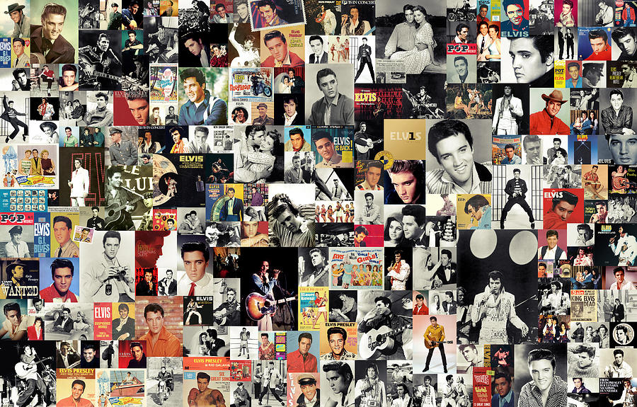 Elvis The King Digital Art