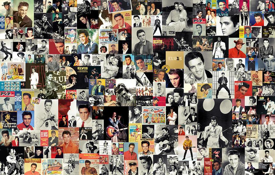 Elvis Presley Digital Art - Elvis The King by Zapista Zapista