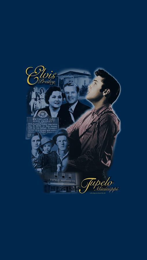 Elvis Digital Art - Elvis - Tupelo by Brand A